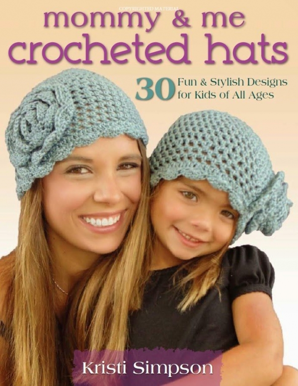 crochet hats book 600x776 Link Love for Best Crochet Patterns, Ideas and News