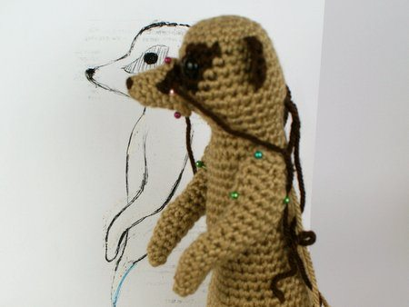 crochet meerkat design Link Love for Best Crochet Patterns, Ideas and News