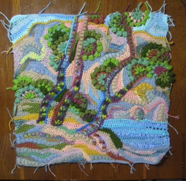 Crochet Paintings Freeform