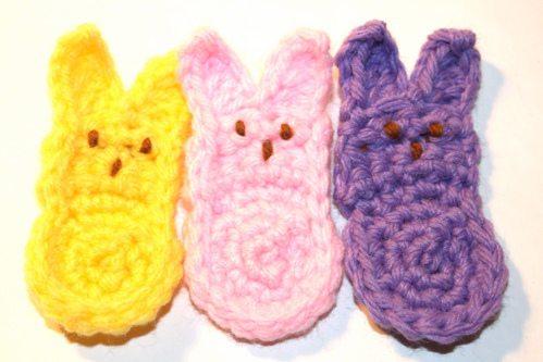 crochet peeps Easter Crochet: Peeps!