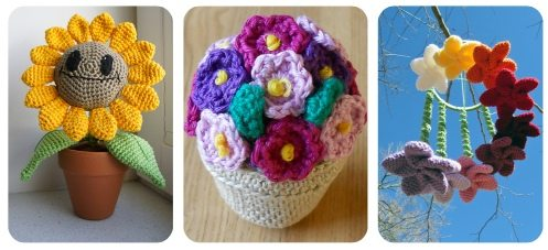crochet plants Link Love for Best Crochet Patterns, Ideas and News