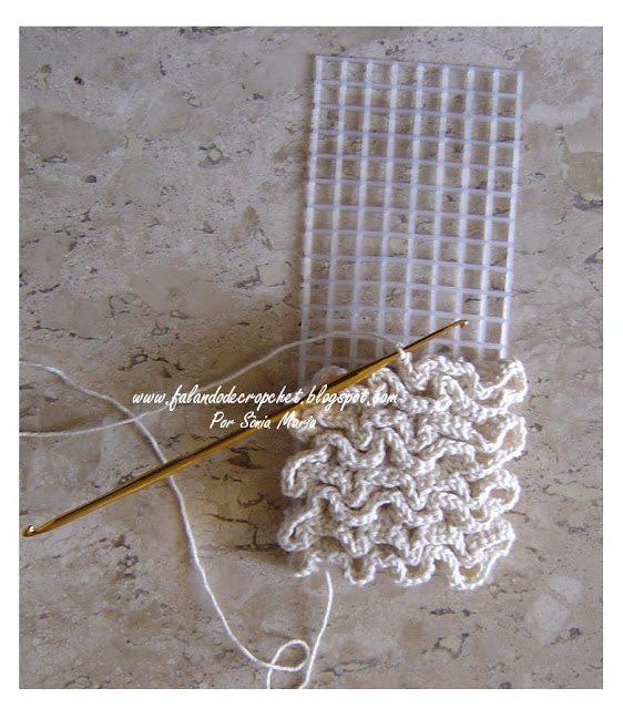 crochet plastic canvas