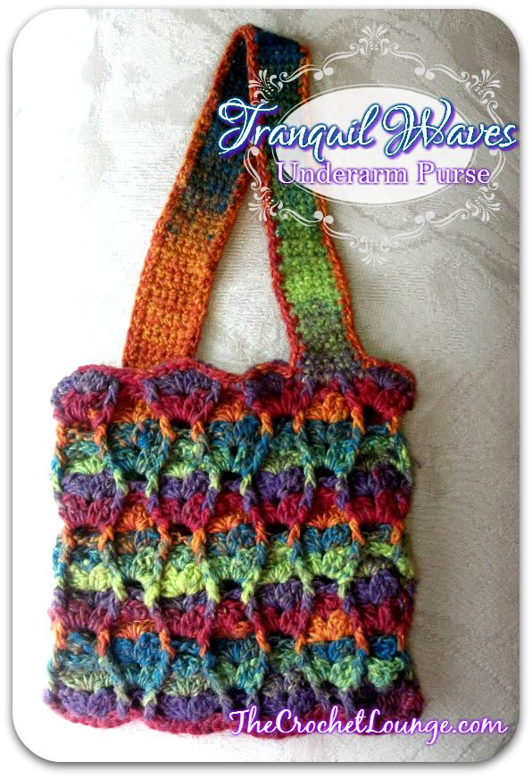 Free crochet purse pattern from @crochetlounge