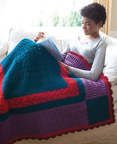 crochet quilt pattern Beyond a Blanket: 10 Crochet Quilt Patterns