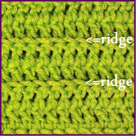 crochet ruffles