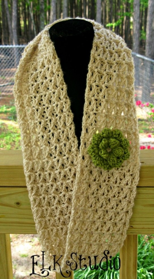 Crocheting Scarf : Crochet Scarf Free Easy Crochet Patterns Free Pattern Crochet Scarf ...