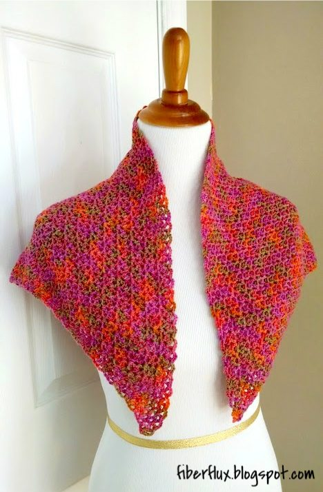 Crochet Patterns Shawl : crochet shawl pattern from @fiberflux; enjoy links to other crochet ...