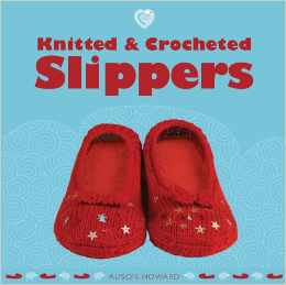 crochet slippers book