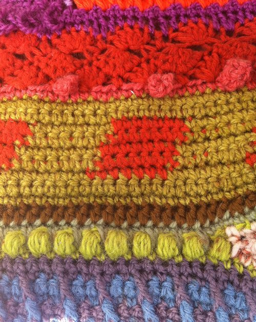 crochet stitch detail