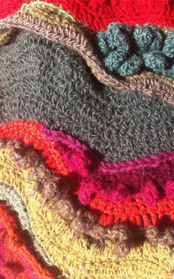 crochet stitch details 1