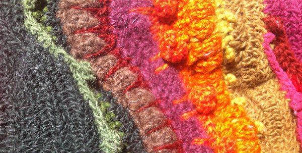crochet stitch details 2 Inspirational Look at 1970s Crochet Artist Susan Morrow