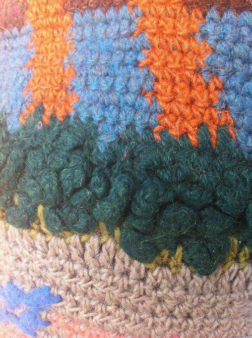 crochet stitch details