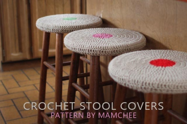 crochet stool pattern 600x400 Link Love for Best Crochet Patterns, Ideas and News