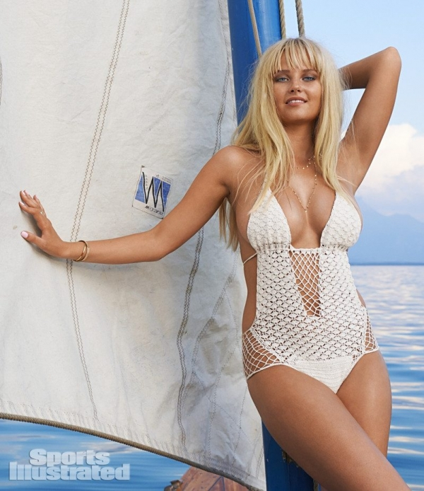 crochet swimsuit beauty 600x694 Stunning 2014 Crochet Swimsuits