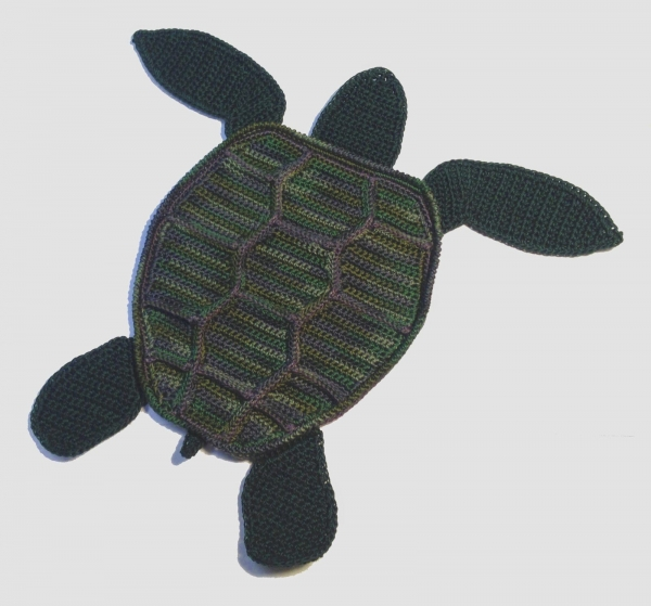 crochet turtle pattern 600x559 15 Best 2014 Animal and Amigurumi Patterns