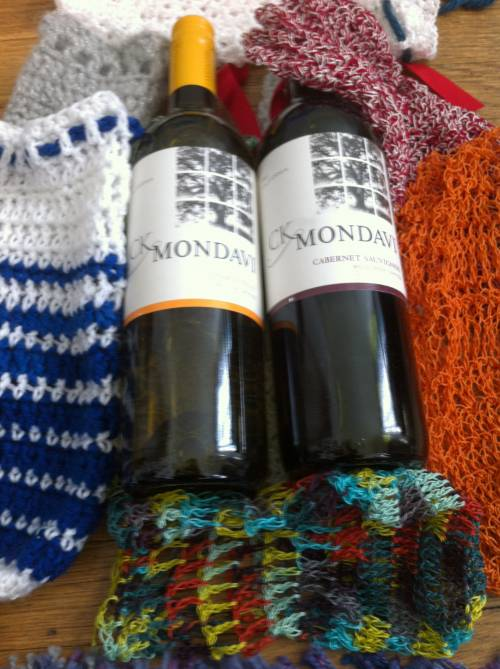 Post image for Supporting American-Made Products and Giving Back to Veterans (and crochet wine cozies)