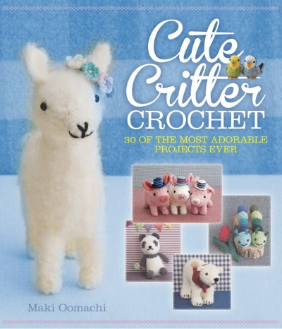 cute critter crochet 400x466 50+ 2014 Crochet Books to Put On Your Amazon Wishlist Today