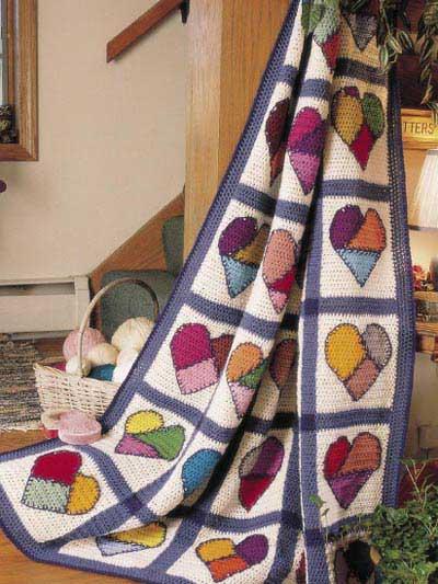 Beyond a Blanket: 10 Crochet Quilt Patterns – Crochet Concupiscence : crochet quilt pattern - Adamdwight.com