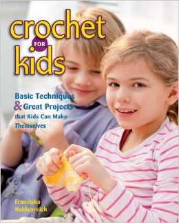 kids crochet book