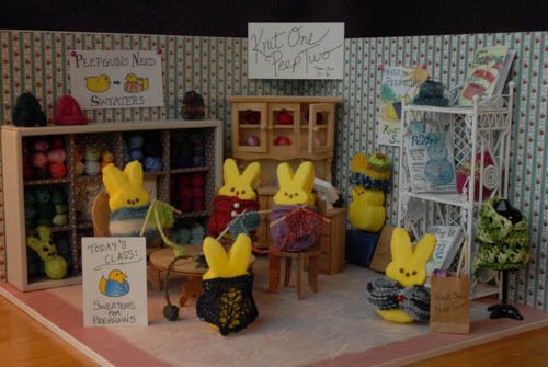 Post image for Easter Crochet: Peeps!