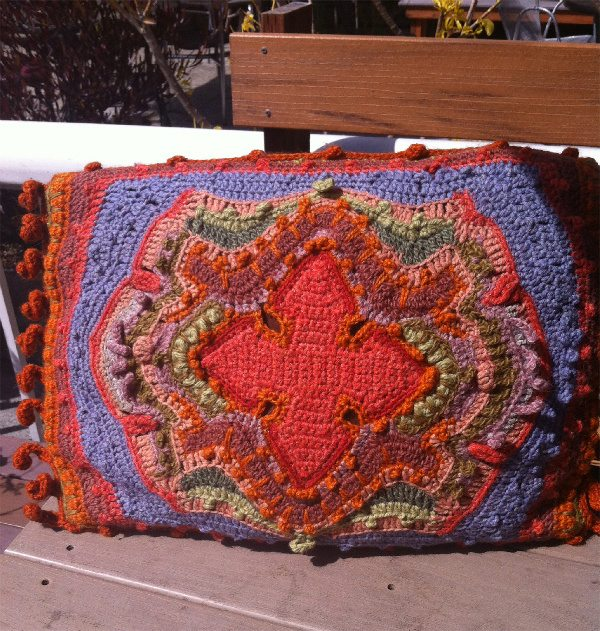 susan morrow crochet pillow