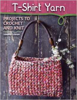 tshirt yarn crochet book