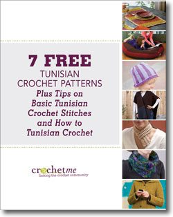 tunisian crochet ebook Link Love for Best Crochet Patterns, Ideas and News