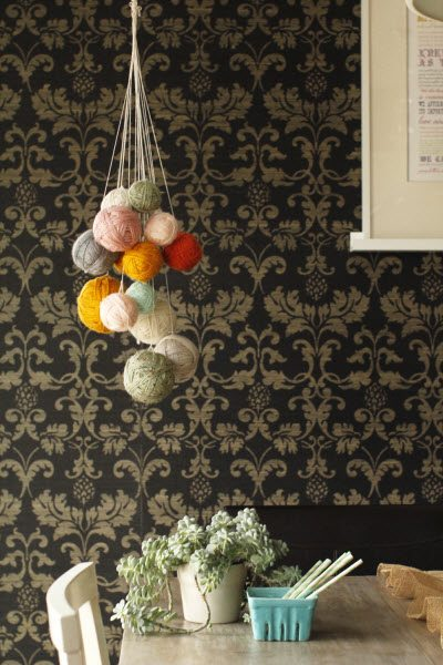 yarn chandelier Link Love for Best Crochet Patterns, Ideas and News
