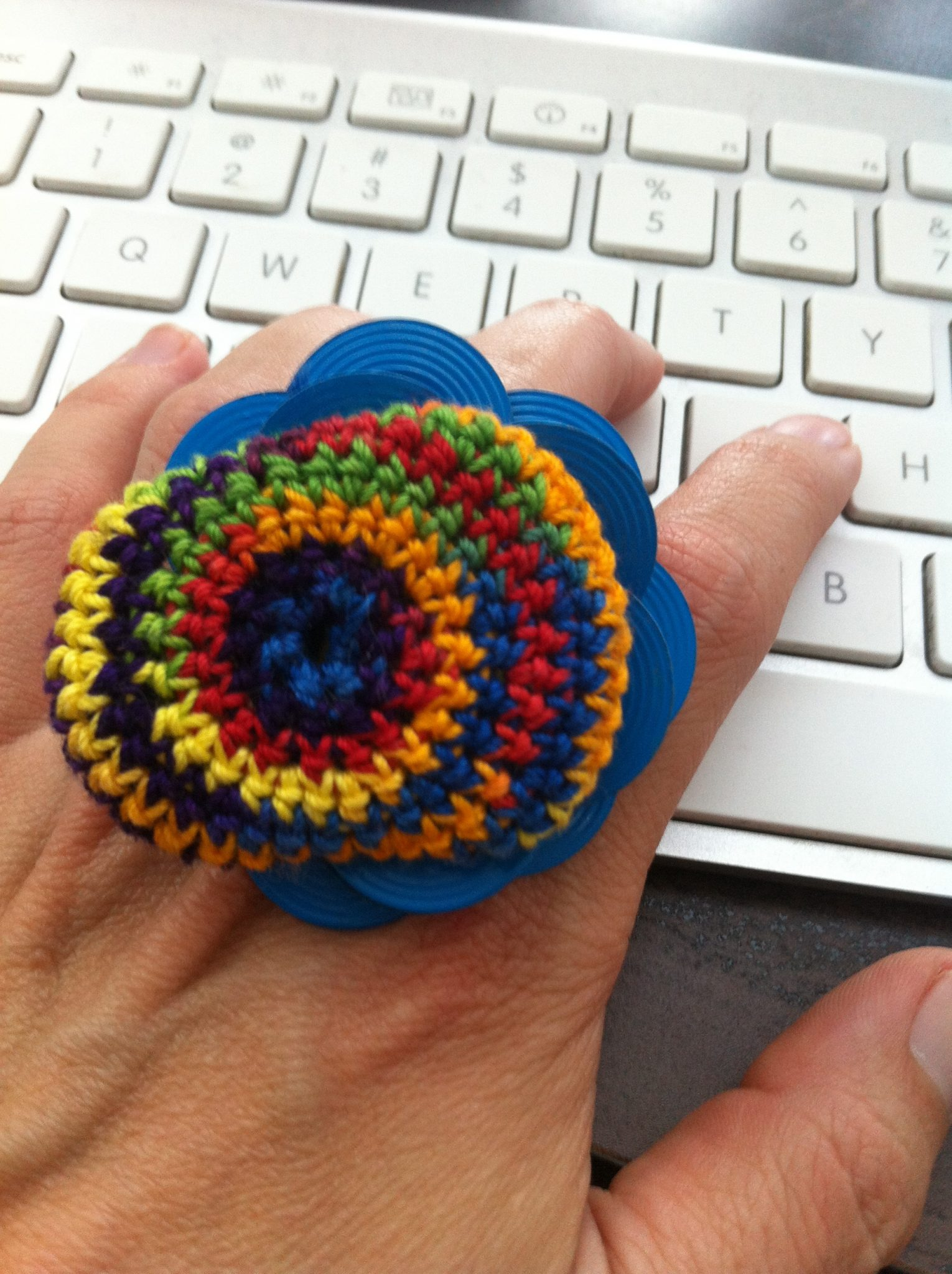 crochet vercillo ring
