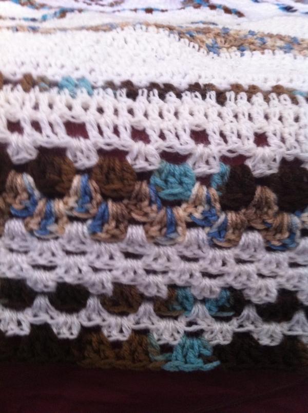 large granny square crochet