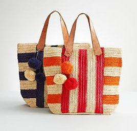 red envelope crochet tote