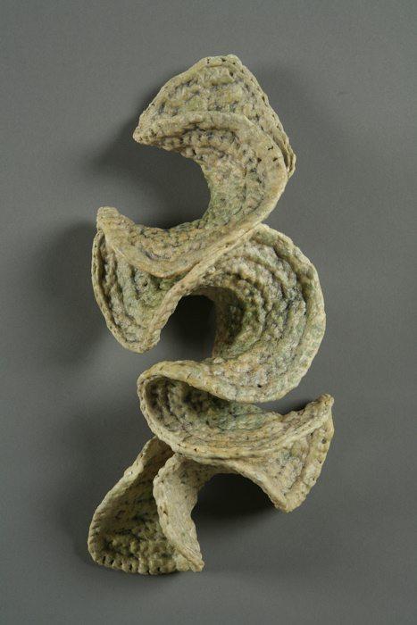 acrylic crochet Nature Based Plarn Crochet Artist Barbara De Pirro