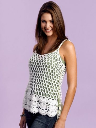 crochet cami free pattern