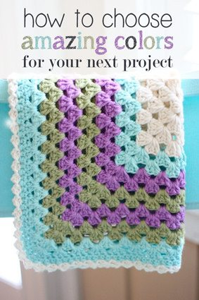 crochet colors Link Love for Best Crochet Patterns, Ideas and News