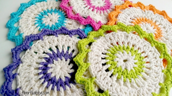 crochet dishcloths free pattern