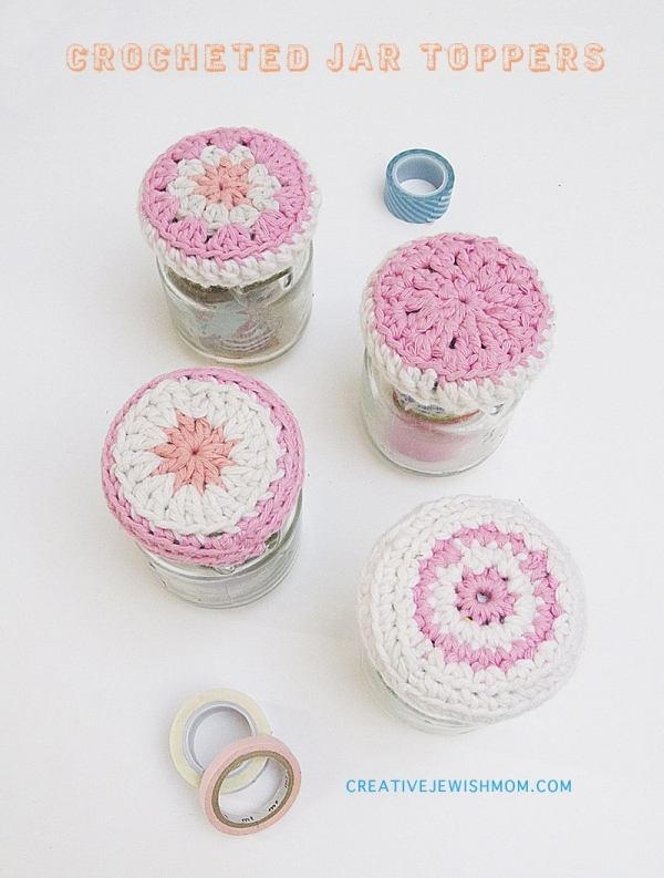 crochet jars 600x793 Link Love for Best Crochet Patterns, Ideas and News