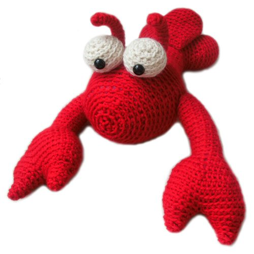 crochet lobster pattern