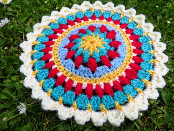 crochet mandala pattern 600x450 Link Love for Best Crochet Patterns, Ideas and News