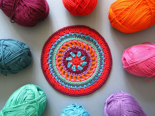 crochet mandalas Link Love for Best Crochet Patterns, Ideas and News