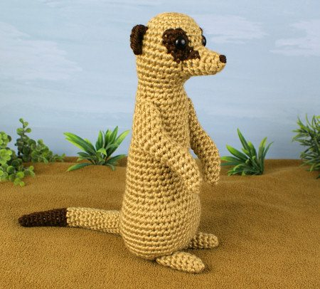 crochet meerkat pattern 15 Best 2014 Animal and Amigurumi Patterns