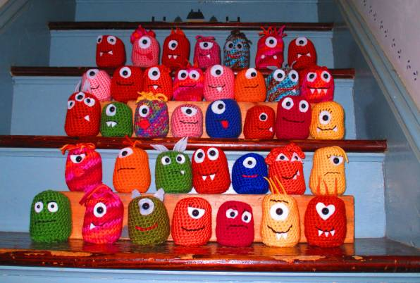 crochet monsters Link Love for Best Crochet Patterns, Ideas and News