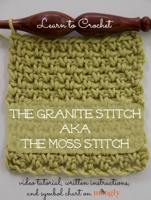 crochet moss stitch Link Love for Best Crochet Patterns, Ideas and News