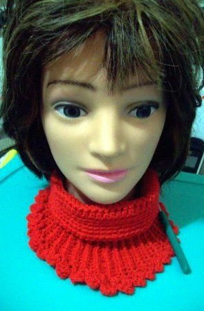 Haak halsverwarmingstoestel pattern
