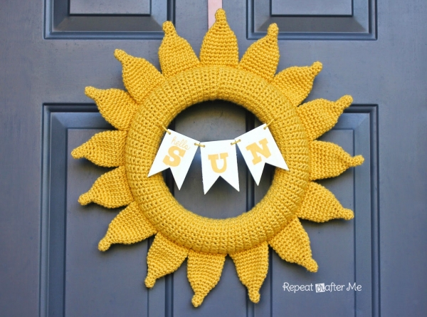 crochet sun pattern 600x445 20+ More of the Best 2014 Crochet Patterns