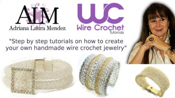 crochet wire jewelry ebooks 600x337 Sponsor Love: Learn To Crochet Wire Jewelry