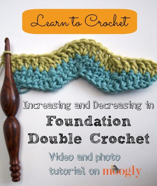 foundation double crochet Link Love for Best Crochet Patterns, Ideas and News