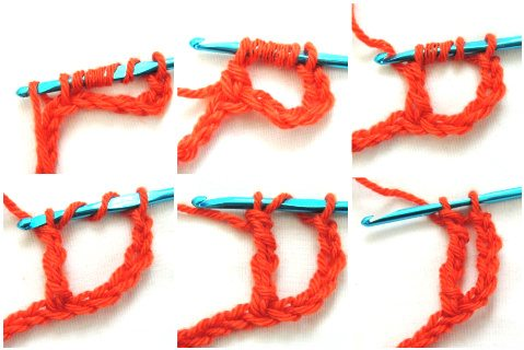 quadtr2 How to Crochet Four Basic Stitches Taller than the Treble