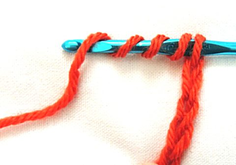 trtr1 How to Crochet Four Basic Stitches Taller than the Treble