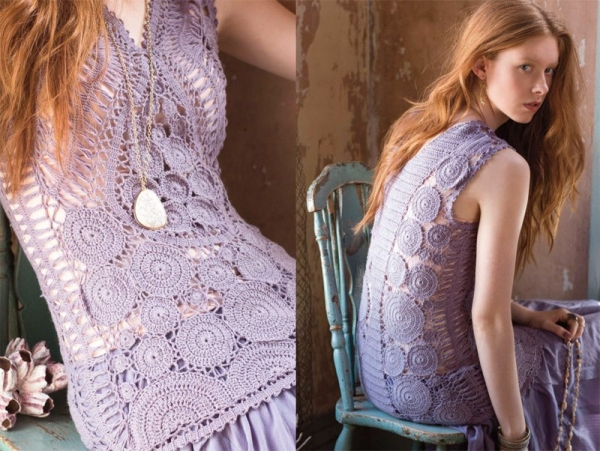 vogue crochet fashion