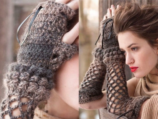 vogue crochet fashion accessories 600x451 Crochet Blog Roundup: May in Review